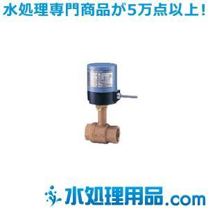 キッツ 電動バルブ 青銅製ボールバルブ EA100-TLE型 1/2インチ(15A) EA100-TLE-1/2 mizu-syori