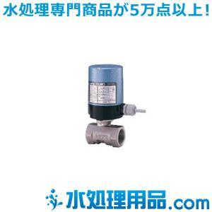 キッツ 電動バルブ SCS14A製ボールバルブ ED24-UTE型 1/2インチ(15A) ED24-UTE-1/2 mizu-syori