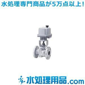 キッツ 電動バルブ 鋳鉄製ボールバルブ EXH200-10FCTB型 1インチ(25A) EXH200-10FCTB-1|mizu-syori