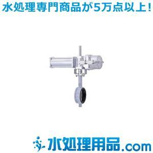 キッツ 空気圧バルブ ダクタイル鉄製バタフライバルブ BS-10DJ型 スプリングリターン 24インチ(600A) BS-10DJ-24