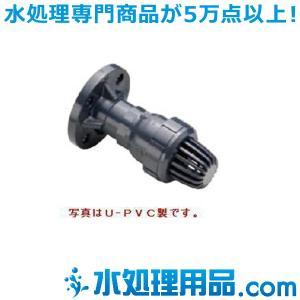旭有機材工業 ボールフートバルブ PVDF製 フランジ形 100A VFTZZFEF100 mizu-syori