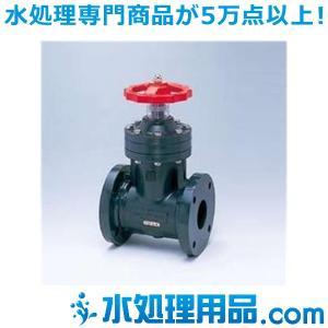 旭有機材工業 ゲートバルブソフトシールタイプ フランジ形 丸ハンドル式 65A VSGMJISF1065|mizu-syori