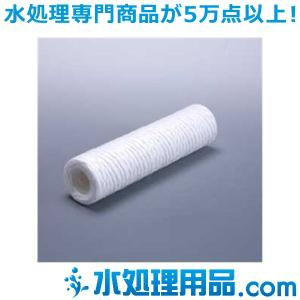糸巻きフィルター 250mm ポリプロピレン 100ミクロン SWPP100-250|mizu-syori