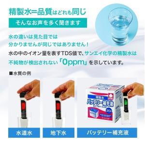 バッテリー補充液 精製水(純水) 大容量 20L入り コックなし 20箱まとめ買い 送料無料 メーカー:サンエイ化学|mizu-syori|08