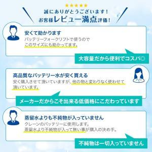 バッテリー補充液 精製水(純水) 大容量 20L入り コック付き 送料無料 メーカー:サンエイ化学|mizu-syori|11