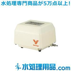 安永エアポンプ 電磁式エアーポンプ 吐出専用タイプ  YP-6A|mizu-syori