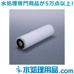 プリーツフィルター 10インチ ダブルオープン 10ミクロン SPL10-10DO|mizu-syori