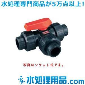 エスロン 三方型ボールバルブ TS式 25A UP-STS25 mizu-syori