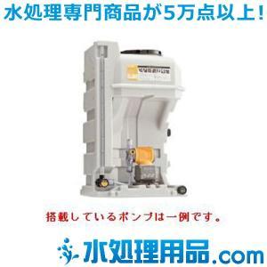 タクミナ薬液タンク PTS シリーズ PW搭載 簡易リリーフ弁なし PTS-120-PW-30-VTCE-HWJ|mizu-syori