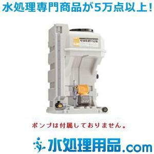 タクミナ薬液タンク  薬注タンク単品  PTS-120 ホース径4mm EPDM|mizu-syori
