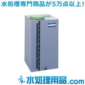 タクミナ ケミカルタンク PVC角型鉄枠なし 100L PVC-100 P|mizu-syori