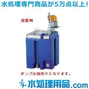タクミナ ソリューションタンク タンク本体+ポンプ架台付き PESP-100-S-S|mizu-syori