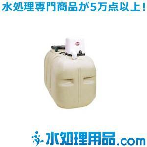 川本ポンプ 受水槽付 NEWソフトカワエース 単独運転 ポリエチレン製受水槽 100Lタイプ NF2-750K|mizu-syori