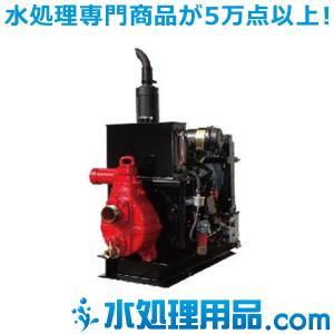 寺田ポンプ製作所 中型エンジンポンプ 高圧用 ERH形 ERH-2G|mizu-syori