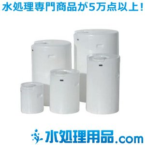 スイコータンク MDドラム 密閉丸型 半透明タイプ  50L MDドラム50|mizu-syori