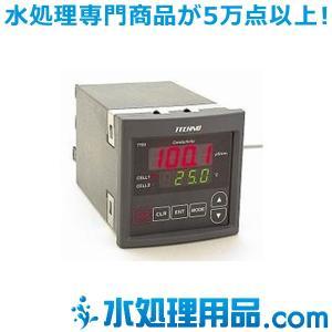 テクノモリオカ パネルタイプ 導電率計 2点制御 7722-A100N|mizu-syori