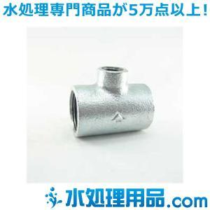 吉年 白継手 3段落ち 径違いチーズ RT型 3/4×1/4インチ(20A×8A) YS-3RT3/4|mizu-syori