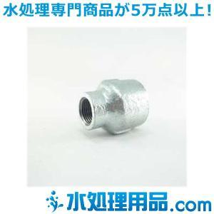 吉年 白継手 2段落ち 径違いソケット RS型 2.5×1.5インチ(65A×40A) YS-2RS2.5|mizu-syori