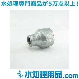 吉年 白継手 3段落ち 径違いソケット RS型 3×1.5インチ(80A×40A) YS-3RS3|mizu-syori