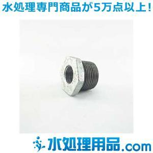 吉年 白継手 2段落ち ブッシング BU型 1.5×1インチ(40A×25A) YS-2BU1.5|mizu-syori