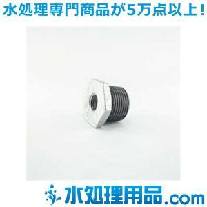 吉年 白継手 3段落ち ブッシング BU型 2×1インチ(50A×25A) YS-3BU2|mizu-syori
