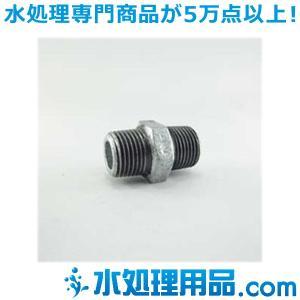 吉年 白継手 六角ニップル Ni型 1インチ(25A) YS-Ni1|mizu-syori
