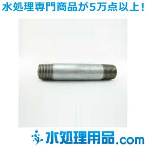 吉年 白継手 パイプニップル 1/8インチ 長さ:65mm YS-65PN1/8|mizu-syori