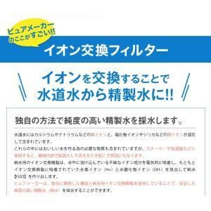 卓上型精製水器 ピュアメーカー専用 交換 精製水カートリッジ 2個セット mizu-syori 02