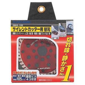 カクダイ サイレントカッター用替刃 品番:0683-105 mizu-syori 02