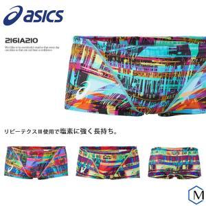 メンズボックス 競泳練習用水着 男性 asics アシックス 2161A210 mizugi