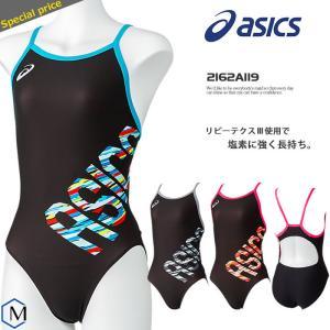 レディース 競泳練習用水着 女性 asics アシックス 2162A119 mizugi