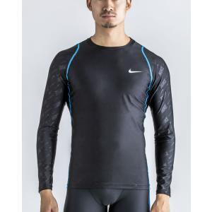メンズ フィットネス水着 男性 ラッシュガード・トップス NIKE ナイキ 2982916|mizugi