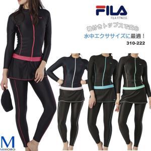 レディース フィットネス水着 セパレート 女性・4点セット FILA フィラ 310-222 母の日 実用的|mizugi
