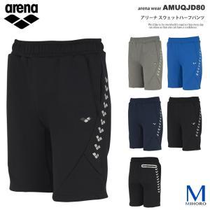 (ウェア・パンツ) スウェットハーフパンツ arena(アリーナ) AMUQJD80 メンズ mizugi