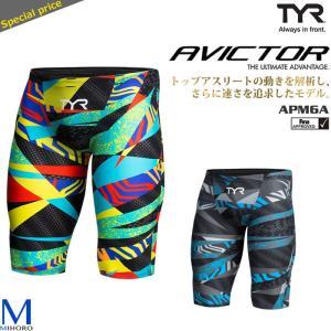 FINAマークあり メンズ 高速水着 レース水着 選手用 AVICTOR TYR ティア APM6(A) (返品・交換不可)|mizugi