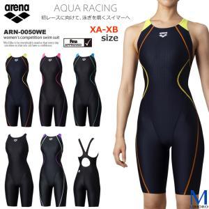 FINAマークあり レディース 競泳水着 女性・大きいサイズ 女性 arena アリーナ ARN-0050WE|mizugi