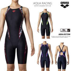 FINAマークあり レディース 競泳水着 女性 arena アリーナ ARN-0075W|mizugi