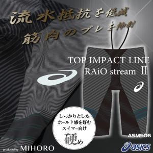 【送料無料】 FINAマークあり メンズ 高速水着 選手用 アシックス ASM506|mizugi