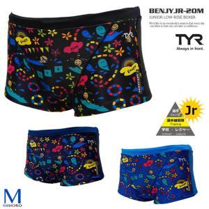 ジュニアボックス水着 男子 競泳練習用水着 TYR ティア BENJYJR-20M|mizugi