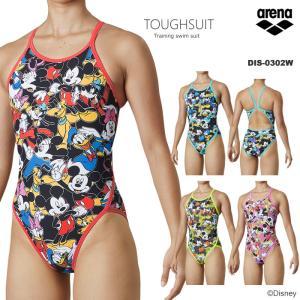 レディース 競泳練習用水着 arena アリーナ ディズニー DIS-0302W|mizugi