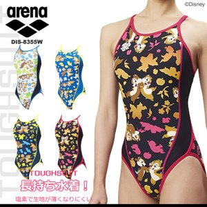 レディース 競泳練習用水着 arena アリーナ ディズニー DIS-8355W|mizugi