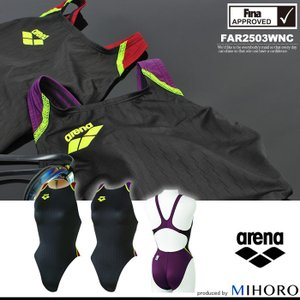 FINAマークあり レディース 競泳水着 アリーナ FAR2503WNC|mizugi
