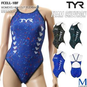 レディース 競泳練習用水着 TYR ティア FCELL-18F|mizugi