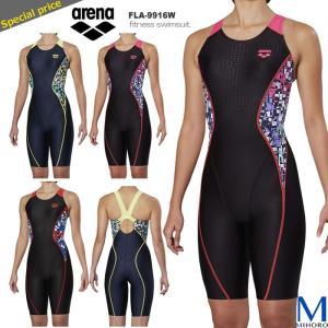 レディース レーシングフィットネス水着 オールインワン arena アリーナ FLA-9916W mizugi