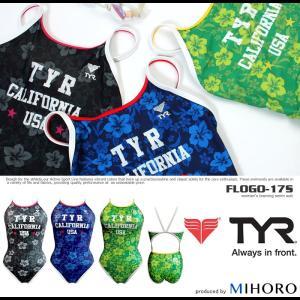 レディース 競泳練習用水着 ティア FLOGO-17S mizugi