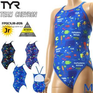 ジュニア水着 女子 競泳練習用水着 TYR ティア FPOCNJR-20S|mizugi