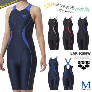 レディース レーシングフィットネス水着 オールインワン 女性 arena アリーナ LAR-9205W mizugi