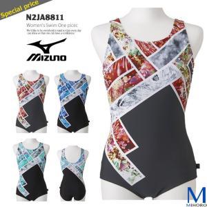レディース フィットネス水着 ワンピース 女性 mizuno ミズノ N2JA8811|mizugi