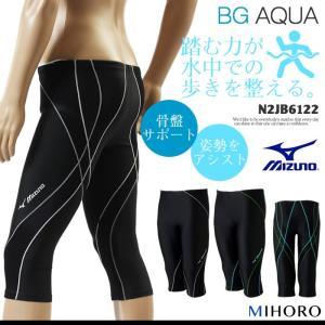 メンズ フィットネス水着 ミズノ N2JB6122|mizugi