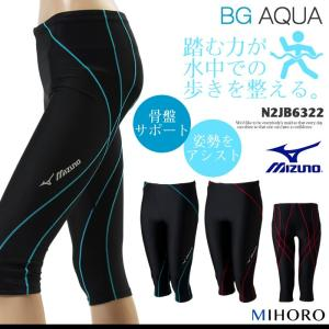 レディース フィットネス水着 ボトムス mizuno ミズノ N2JB6322 (特別価格につき交換返品不可)|mizugi
